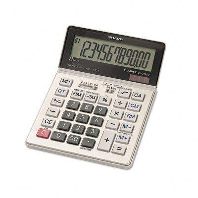 Sharp VX-2128V Compact Desktop Calculator 12-Digit