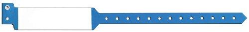 PDC Healthcare Custom Adult Blue Wristbands
