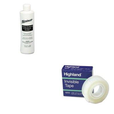 KITMMM6200341296SWI1760049 - Value Kit - Swingline Shredder Oil SWI1760049 and Highland Invisible Permanent Mending Tape MMM6200341296