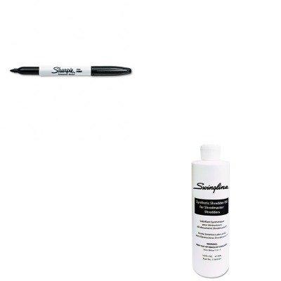KITSAN30001SWI1760049 - Value Kit - Swingline Shredder Oil SWI1760049 and Sharpie Permanent Marker SAN30001