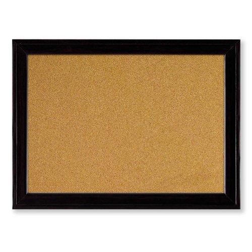 Quartet Cork Bulletin Board 11 x 17 Inches Home Décor Corkboard Black Frame 79279
