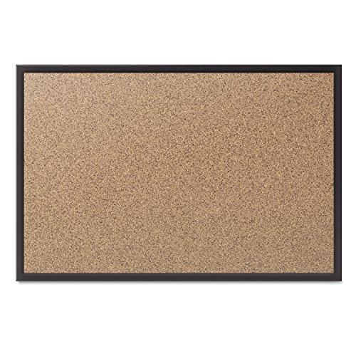 Quartet Cork Bulletin Board 6 x 4 Feet Black Frame 2307B