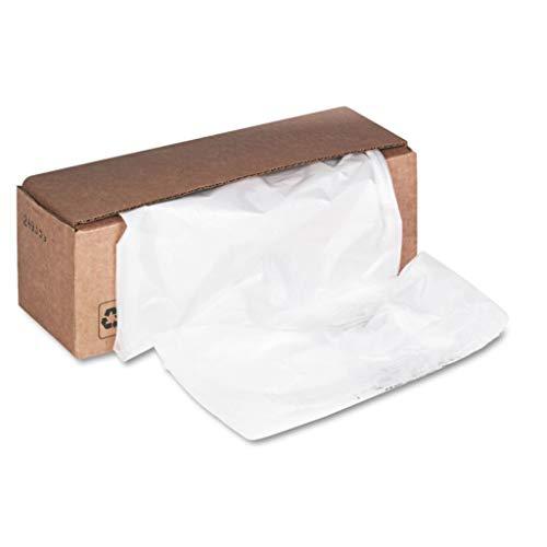 FEL3605801 - Material  Plastic - Fellowes Powershred Shredder Bags - Carton of 50
