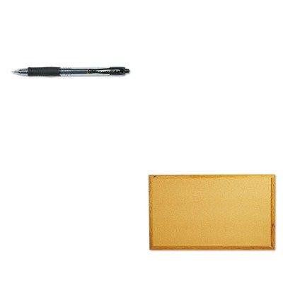 KITPIL31020QRT305 - Value Kit - Quartet Bulletin Board QRT305 and Pilot G2 Gel Ink Pen PIL31020
