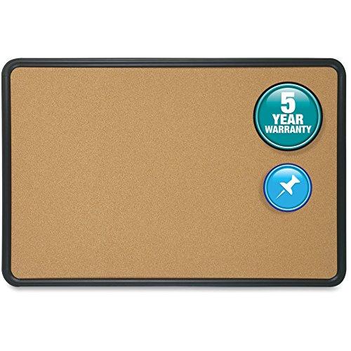 Quartet Bulletin Boards w Plastic Frame 24x18 Natural Cork 699165