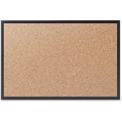Quartet Cork Bulletin Board 8 x 4 Feet Corkboard Black Frame 2308B