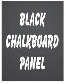 NEOPlex 24 x 36 Black Chalkboard Replacement Panel for Sidewalk Sandwich Board A-frame Signs
