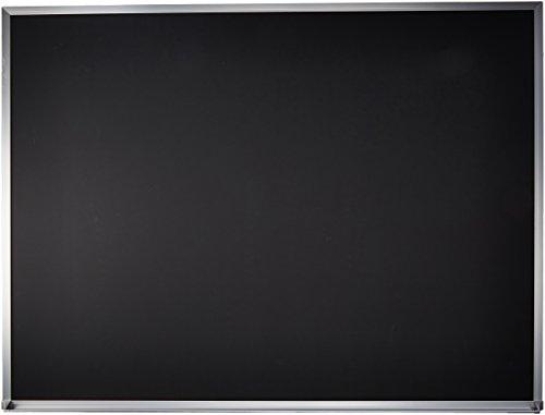 Quartet Black Chalkboard 4 x 3 Feet Aluminum Frame ECA304B