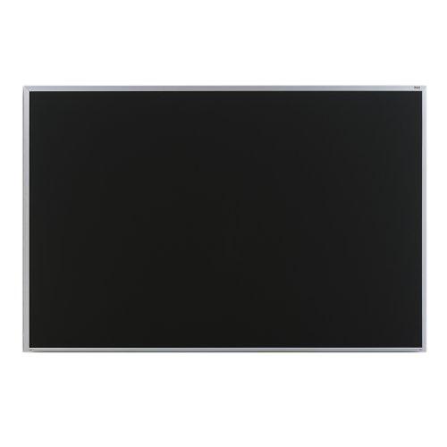 Marsh Pro-Rite 48x192 Black porcelain chalkboard Contractor w hanger bar Aluminum trim  1 map rail- PR416-3661-6501