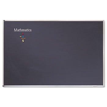 Quartet Porcelain Magnetic Chalkboard BOARDCHLKBD4X8PORLNBK 123344 Pack of2