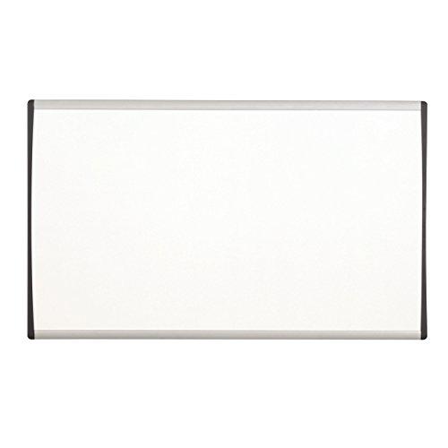 Quartet Dry Erase Board Magnetic 24 x 14 Whiteboard Cubicle Arc Aluminum Frame ARC2414