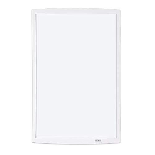 Quartet Dry Erase Board WhiteboardWhite Board Magnetic 11 x 14 White Plastic Frame Silver Corners 63536
