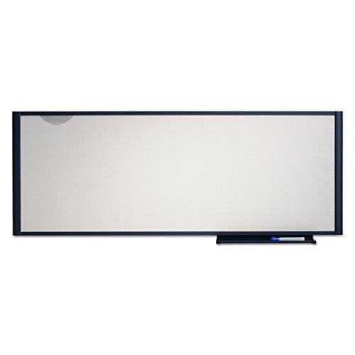 Quartet WM4818 Quartet Workstation Total Erase Marker Board Dry-Erase 48 x 18 WE GY Frame