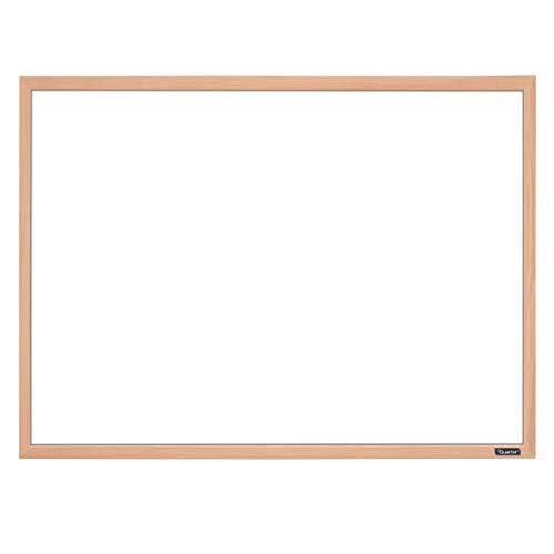 Quartet Whiteboard 17 x 23 Dry Erase Board White Board Oak Finish Frame 35-380372Q