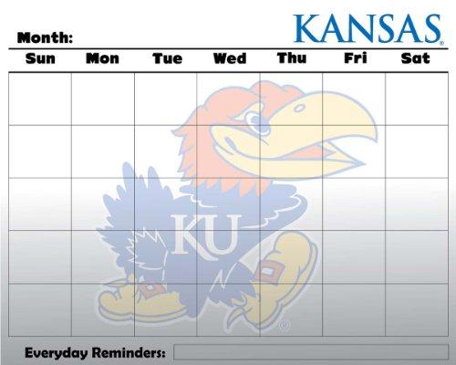 Kansas Jayhawks 16 x 20 Dry Erase Message Board