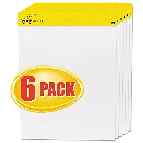 Post-it Easel Pads Self-Stick Easel Pads 25 x 30 White 6 30-Sheet PadsCarton