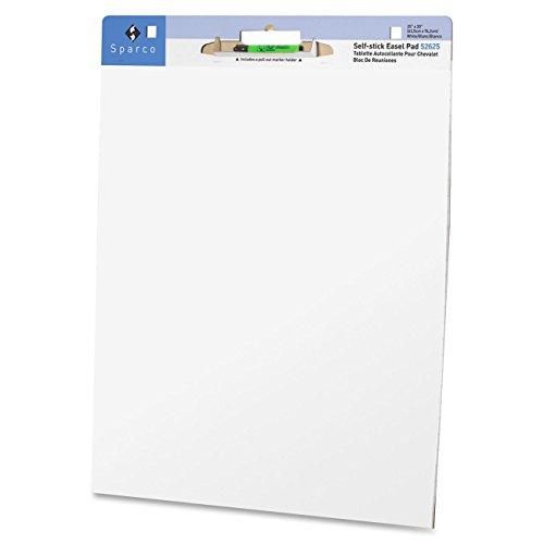 Sparco Plain Self-stick Easel Pad SPR52625