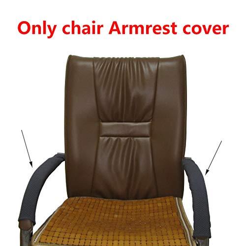 JBingGG Stretch Zipper Armrest Cover ComputerOfficeRotating Chair Armrest Slipcover