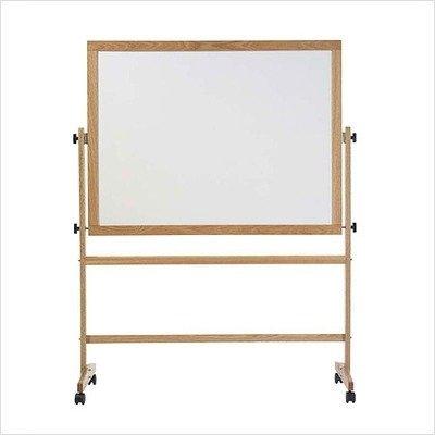 Pro-Rite Free-Standing Reversible Whiteboard Size 36 H x 5 W
