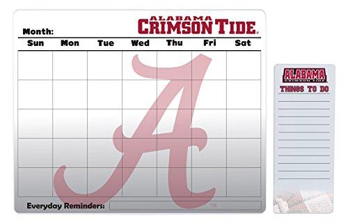 Alabama Crimson Tide 16 x 20 Dry Erase Calendar and 4 x 10 Dry Erase Board