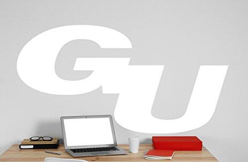 Gonzaga University Logo Vinyl Whiteboard Decal 22x425 white