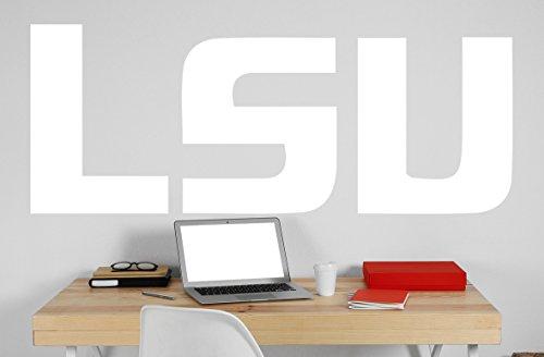 Louisiana State University Logo Vinyl Whiteboard Decal 685x22 white