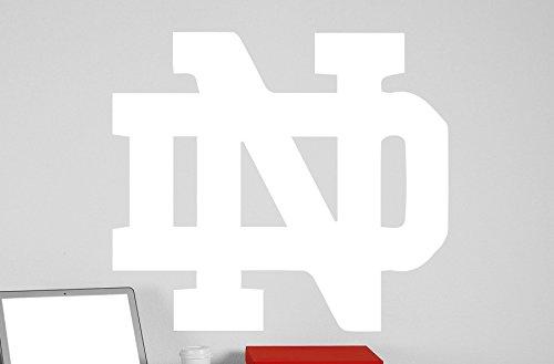 Notre Dame University Logo Vinyl Whiteboard Decal 22x245 white