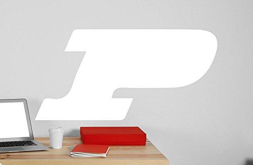 Purdue University Logo Vinyl Whiteboard Decal 22x44 white