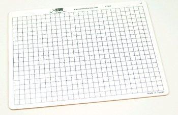 Centimeter Grid Dry Erase Boards Set of 10