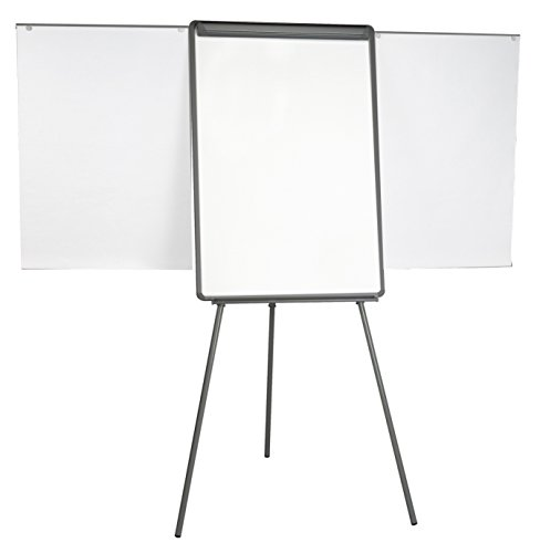 MasterVision Tripod Presentation Easel Dry Erase Surface with Extension Bars 29 x 41
