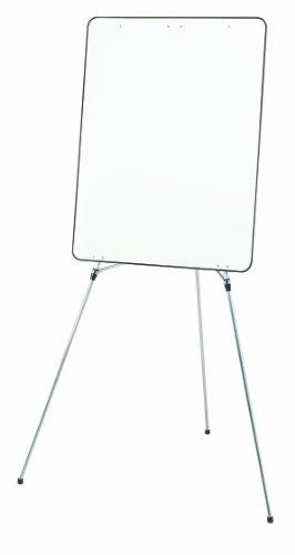 Quartet Advantage Presentation Easel WhiteboardFlipchart Holder 75 Inch Max Height Silver24EL