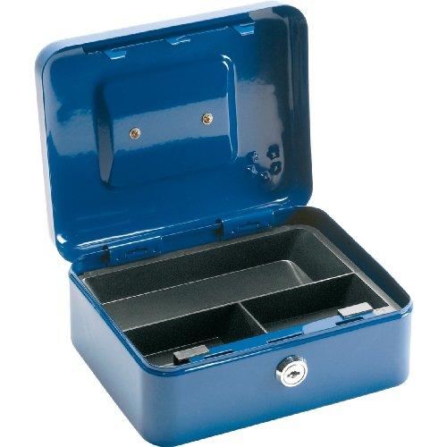 5 Star Office Cash Box 8 Inch W150xD200xH78mm Blue