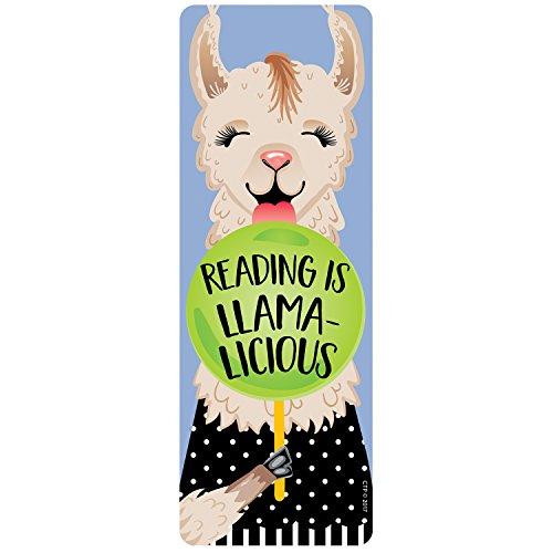 Creative Teaching Press Reading is Llama-Licious Bookmark CTP 0440