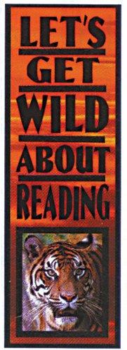 Eureka 843340 Bookmarks Set of 36 Lets Get Wild About Reading