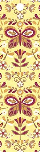 Gift Trenz Butterflies Art Tassel Bookmark