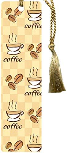 Gift Trenz Coffee Tassel Bookmark