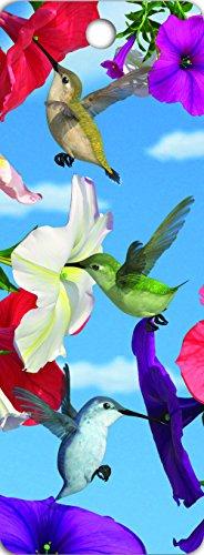 Gift Trenz Hummingbirds and Hibiscus Tassel Bookmark