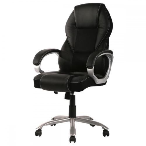 High Back PU Leather Office Chair Ergonomic Executive Task Chair Swivel