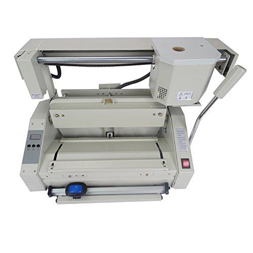 CGOLDENWALL Desktop glue book Binder binding machine glue book binder machine hot melt glue binding machine booklet maker