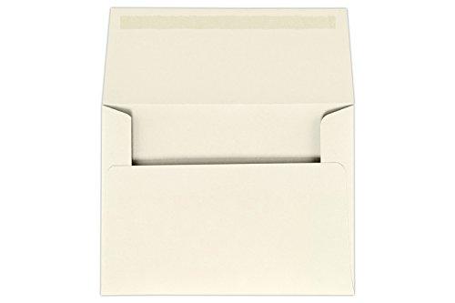 A6 Invitation Envelopes 4 34 x 6 12 - Natural 50 Qty