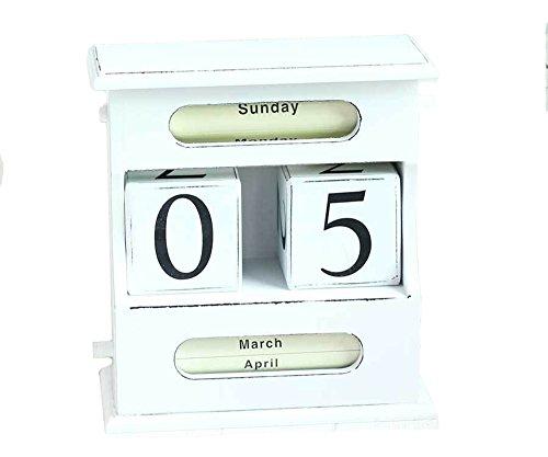 Creative Perpetual Calendar Home Desk Decorations style 1