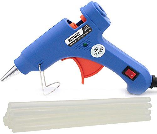 Hot Glue Gun Kits-Elplore Lifez 20 Watt Melting Adhesive Glue Gun with 10 Pcs Sticks for DIY Small Craft and Quick Repairs in Home Office