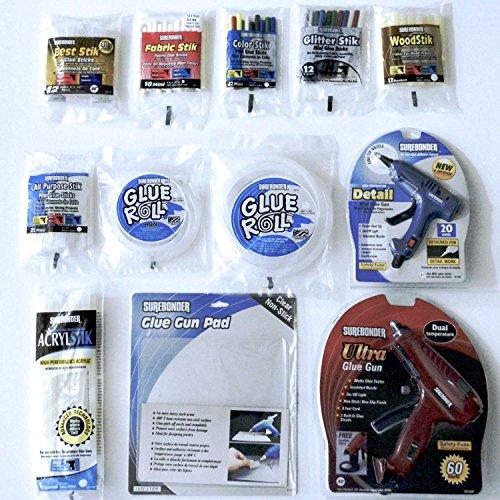 Surebonder Glue Gun  Glue Stick Starter Kit