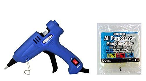 Surebonder H-195 Mini Detailed Glue Gun  100 All Purpose Stik Mini Glue Sticks 4