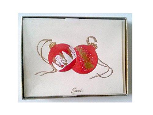 Cranes KN9132V Holiday Card 10 Engraved Cards 10 Lined Envelopes Made in USA Virgin Vintage Product