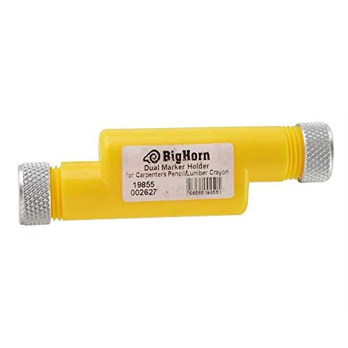 Big Horn 19855 Dual Marker Holder For Carpenter Pencil