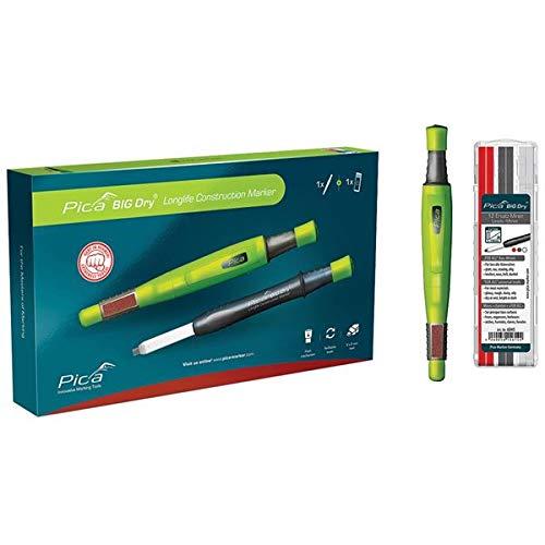 Pica 6095 Big Dry Longlife Mechanical Carpenters Pencil Set