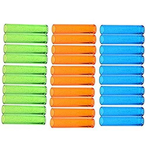 Ogrmar Assorted Colors Plastic Pencil Cap Pencil Shield Pencil Extender Holder 30pcs Assorted Colors