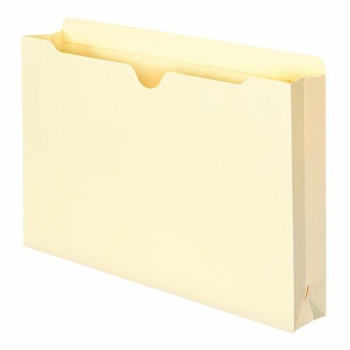 Smead File Jacket Reinforced Straight-Cut Tab 2 Expansion Legal Size Manila 50 per Box 76560