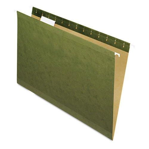 Pendaflex - Reinforced Hanging Folders 15 Tab Legal Standard Green 25Box 4153-15 DMi BX